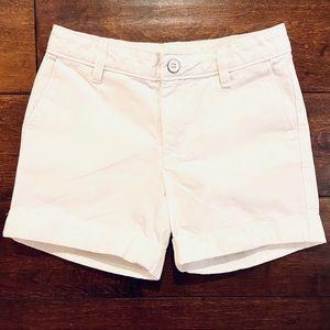 Gap Kida Girls White Shorts Size 7